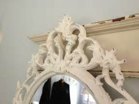 baroque mirror white mirror shabby chic nursery ornate