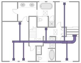 how to design home hvac system house hvac plans house design ideas