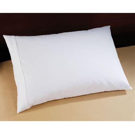 the traveler s allergen blocking pillow hammacher