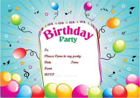 100 Free Birthday Invitation Templates You Will Love These Demplates Powerpoint Birthday Invitation Template