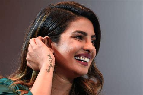 priyanka chopra shows off engagement ring priyanka chopra shows off her rock of an engagement ring