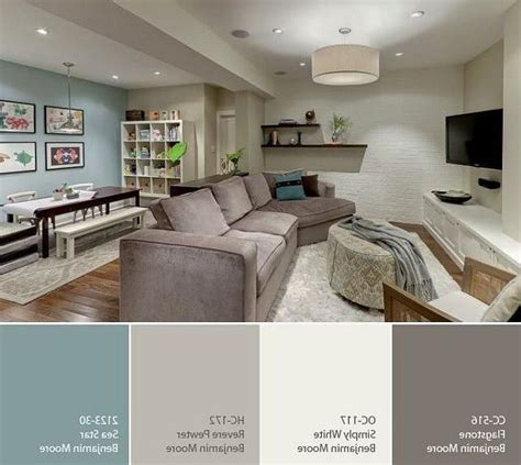 colors for basement family room best 20 basement living rooms ideas on