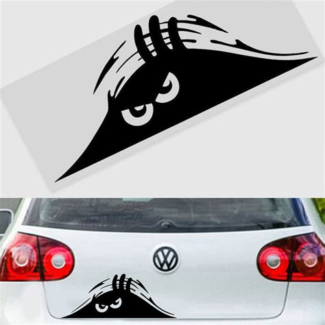 7 Car Sticker by Scary Peeper Car Truck Bumper Window