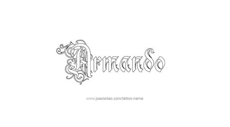 by armando tattoo pictures tattoo design name armando 22 png