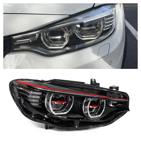 bmw m4 headlights m4 f82 custom headlights by oss designs