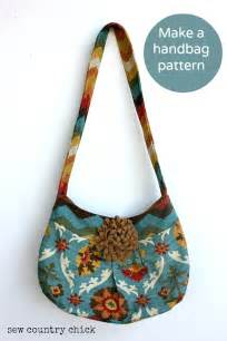 How i make a handbag pattern and sew it