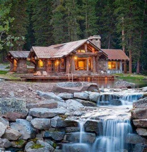 Cabins On The Water by Cabin On The Water Structures Buildings Houses I