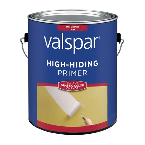 shop valspar interior primer actual net contents 128 fl oz at lowes