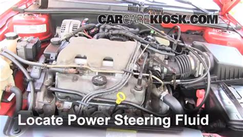 electric power steering 2003 pontiac grand prix lane departure warning follow these steps to add power steering fluid to a pontiac grand am 1999 2005 2003 pontiac