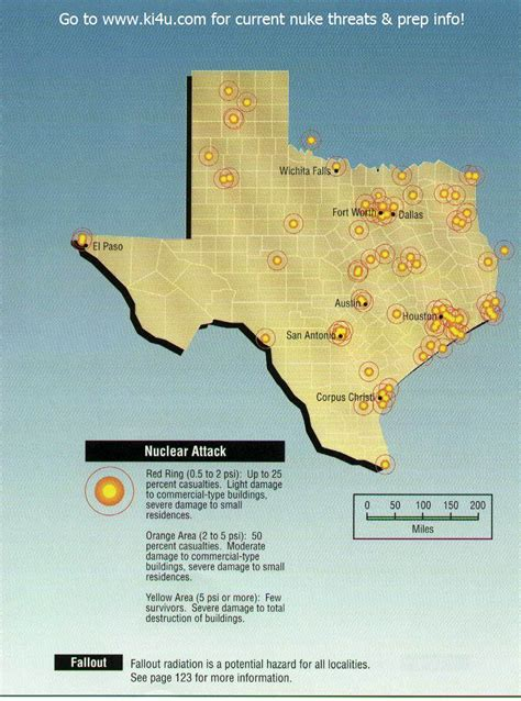 fema maps texas nuclear war fallout shelter survival info for texas with fema target maps
