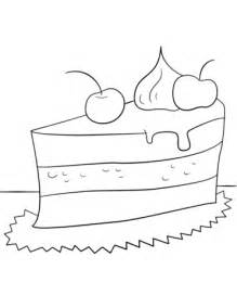 coloring pages of a piece of cake piece of cake coloring page free printable coloring pages