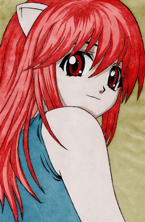 elfen lied buy elfen lied colored by jallesmaciel on deviantart