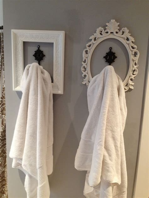 bathroom towel hanging ideas perfect look for basement bathroom hang your robe towels
