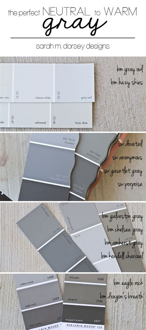 how to pick wall color sarah dorsey s opinion on how to pick the perfect gray
