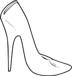 High Heel Shoes Outline by Stiletto Heels Coloring Pages Pictures To Pin On Pinsdaddy