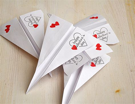 paper airplane valentines simply sted tremendous treats