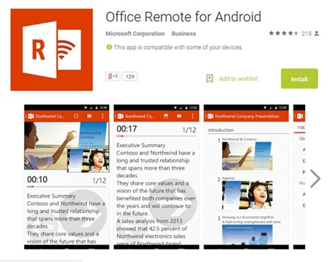 office apps for android free microsoft releases office remote for android noypigeeks philippines technology news