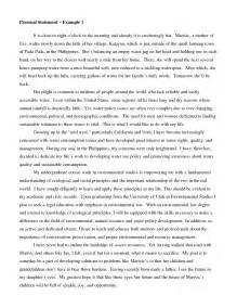 Exle Of Best Essay by Personal Statement Essay Exles Best Template Collection