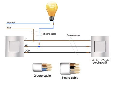 2 way light switch wiring diagram australia circuit and