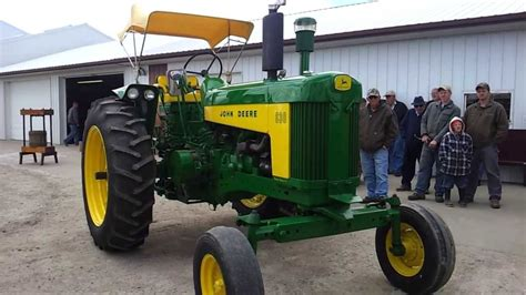 Jd S Or Mba S Make More Are Happier by 1960 Jd 630 Tractor Sold On Iowa Auction For 9 300