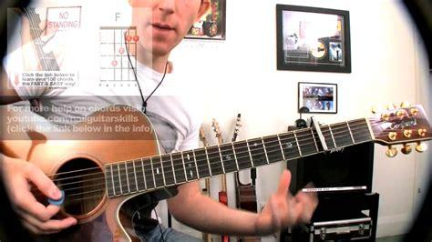 tutorial untuk beginner guitar adele rolling in the deep guitar lesson super easy