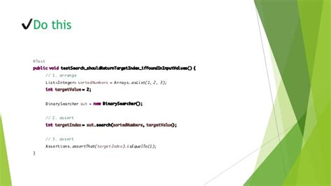 aaa pattern unit test effective unit test style guide