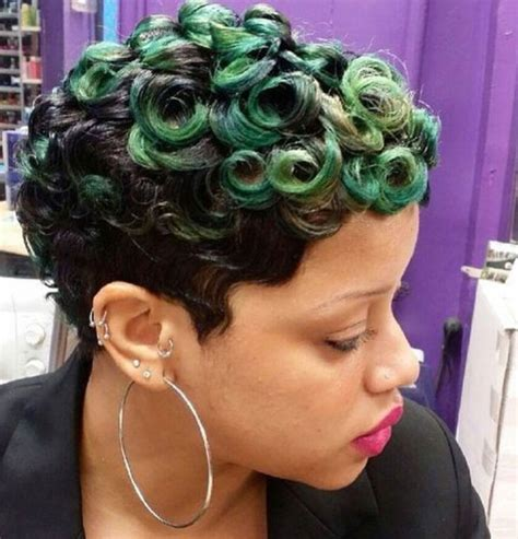how to pin curl hair on afro american cute short hairstyles for black women african american