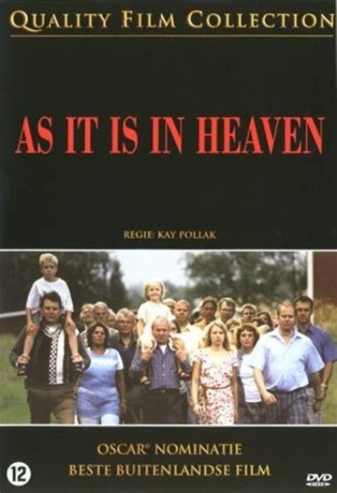 film it is in heaven bol com as it is in heaven ingela olsson per morberg