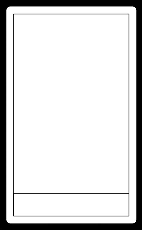 blank tarot card template tarot card template by arianod on deviantart