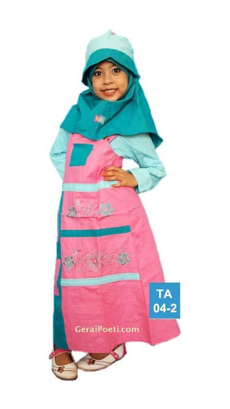 Mukena Muslimah Anak Pink Syi 966 ta04 poeti muslimah anak all katun distributor mukena silky poeti geraipoeti