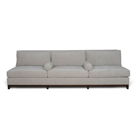 armless settees armless settee modern home interiors modern armless