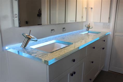 bathroom leds how to installing glass cabinet lighting inspiredled blog