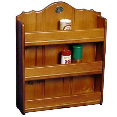 Spice Rack Wood by Wooden Spice Rack Kitchen