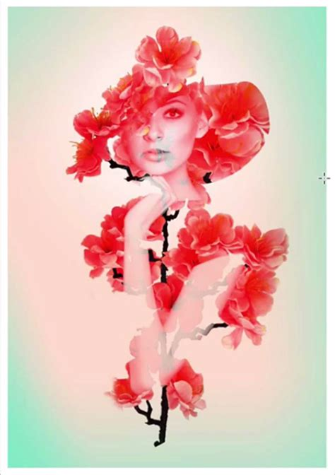 double exposure with flower tutorial how to create an artistic double exposure effect in photoshop