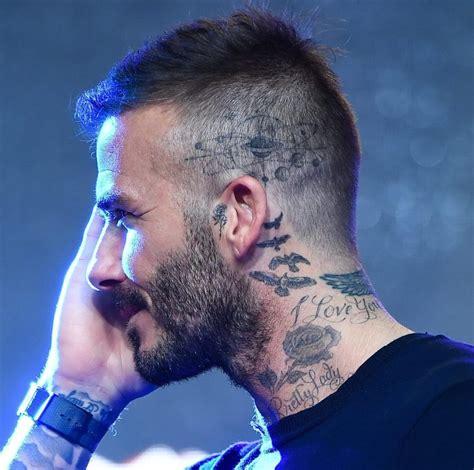 david beckham new tattoo david beckham reveals new photos global