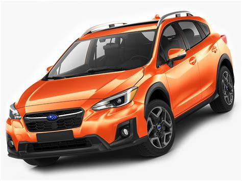 subaru models subaru xv crosstrek 3d model 1147345 turbosquid