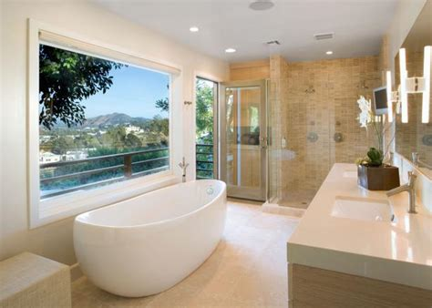 Modern Bathroom Tub by Modern Bathroom Design Ideas Pictures Tips From Hgtv Hgtv