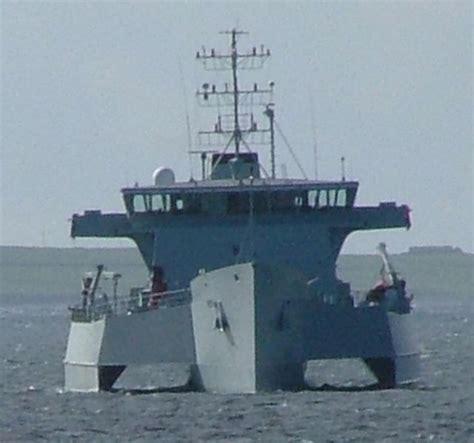 rv triton trimaran warship demonstrator 2000 2005 ex - Qinetiq Trimaran