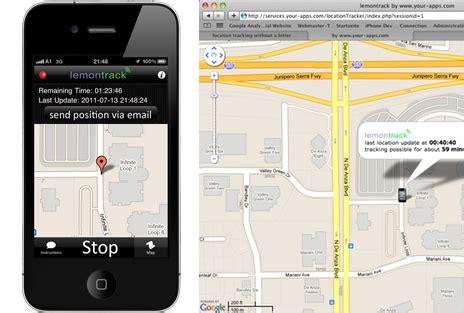 """bis morgen kostenlos: geo tracker """"lemontrack"""" informiert"""