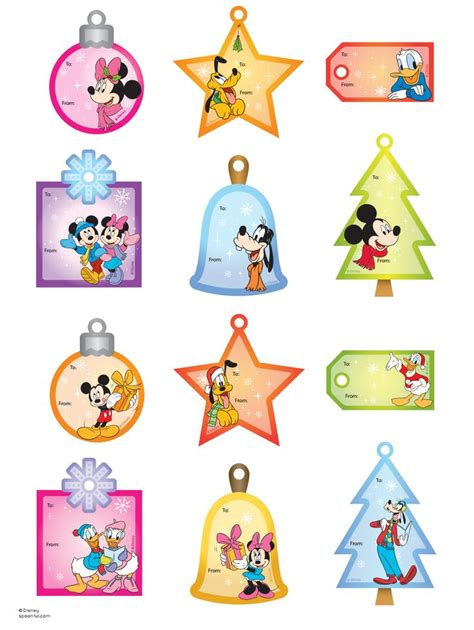 disney holiday gift tags 63 best printable gift tags images on free printable free printable gift