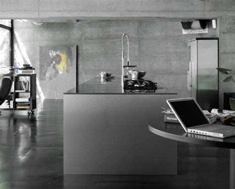 industrial theme industrial style kitchen interior in grey theme with