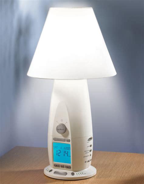 alarm clock mit wake  licht bewegungs sensor dimmbare automatische aus nacht licht led