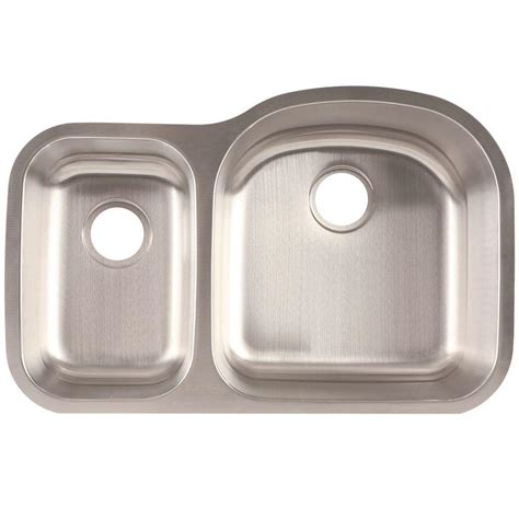 franke undermount kitchen sinks franke undermount stainless steel 21x32x7 9 0 hole double
