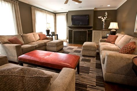 awesome brown and grey living awesome burnt orange and brown living room images of