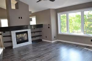 Chic armstrong laminate flooring in living room