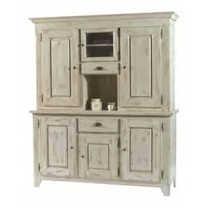 bas de vaisselier pin blanc c 233 rus 233 3 portes 1 tiroir