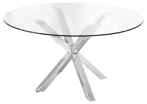 circular glass dining table febland crossly circular glass dining table sculptured