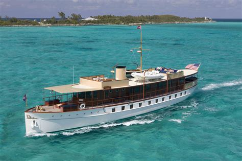 yacht and boat building courses 104 freedom a fully restored 1926 mathis yacht built by