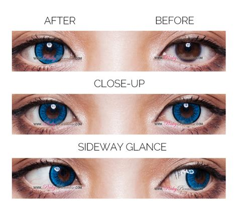 blue colored contacts for eos new blue circle lenses colored contacts