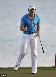 Rory mcilroy is world no 1 after winning honda classic daily mail